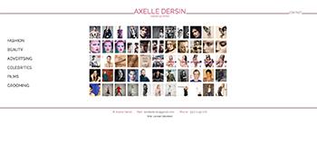 création site web axelledersin.com