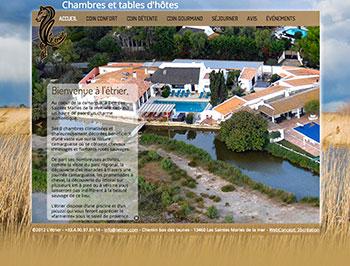 création site web letrier.com