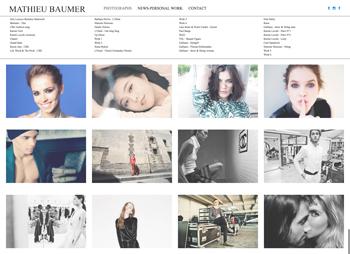création site web mathieubaumer.fr