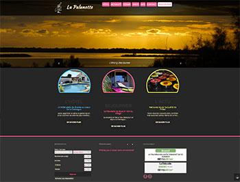 création site web palunette.fr